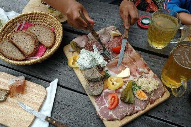 12 platos de comida típica austriaca 12