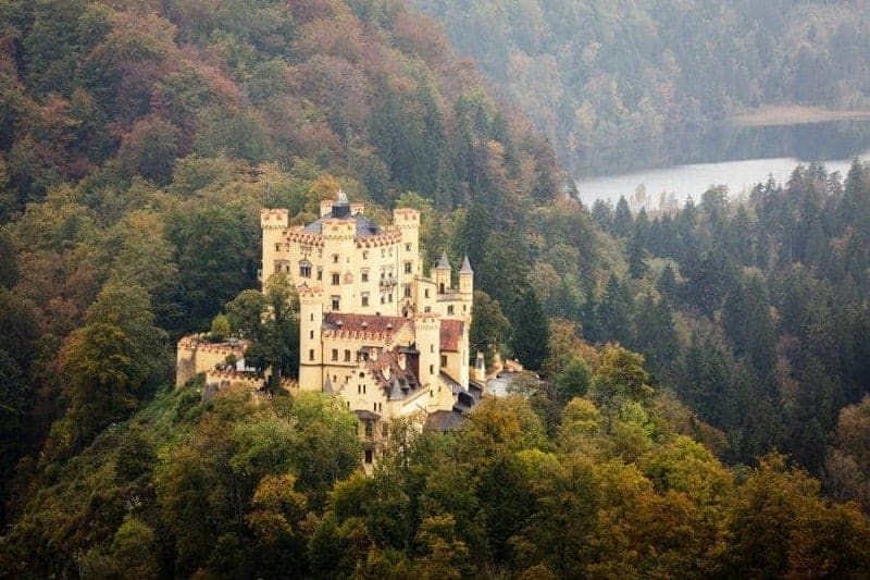 25 hermosos castillos de Alemania 13