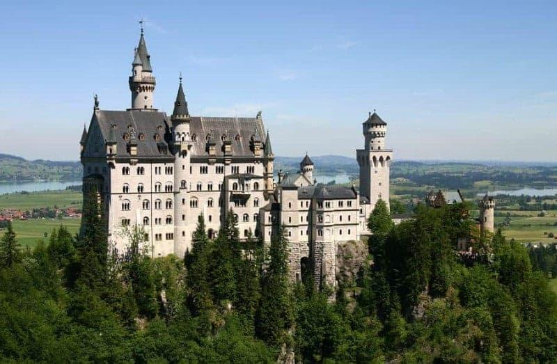 25 hermosos castillos de Alemania 3