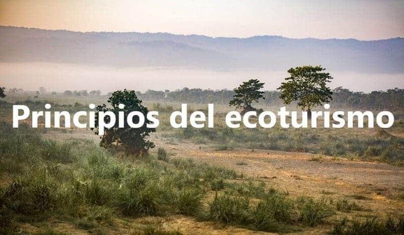 Ecoturismo: definición, origen, historia, principios y beneficios 4