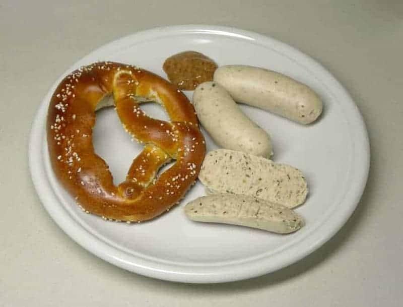 Weisswurst (salchicha de tocino)