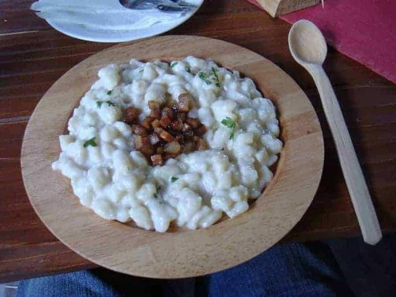 Eslovaquia - Albóndigas de patata