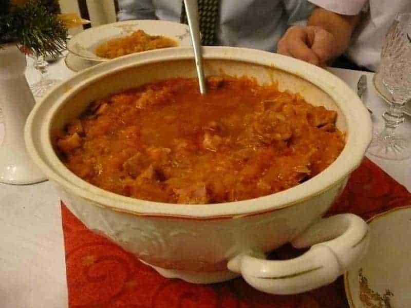 Kapustnica (sopa de col)