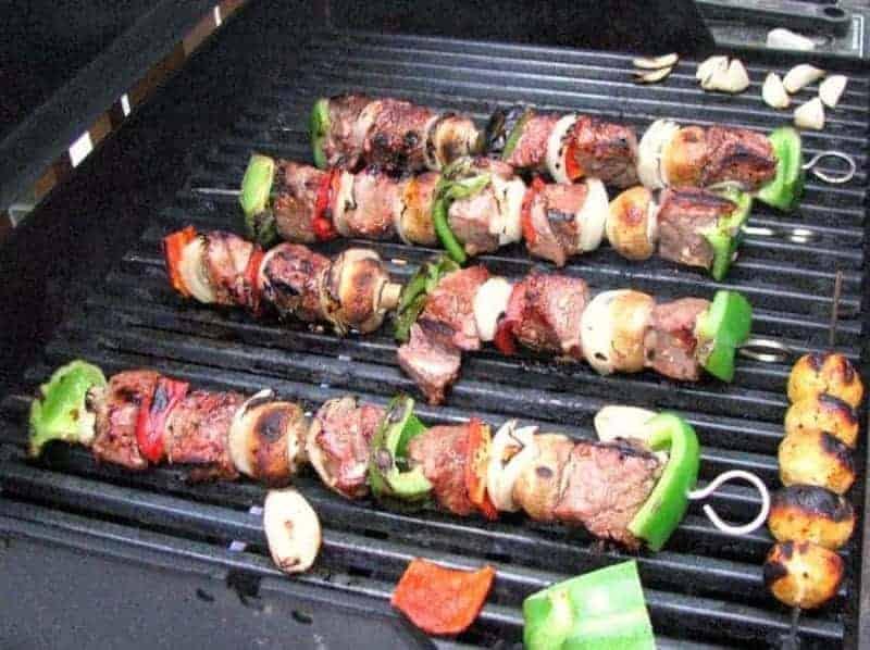 Kebabs (trozos de carne)