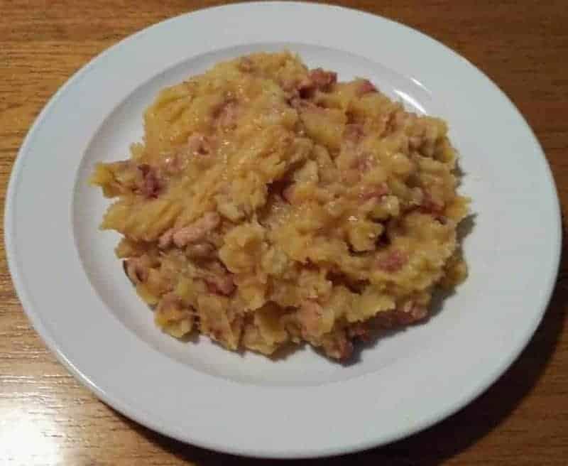 Mulgipuder (puré de patatas y avena de cebada)