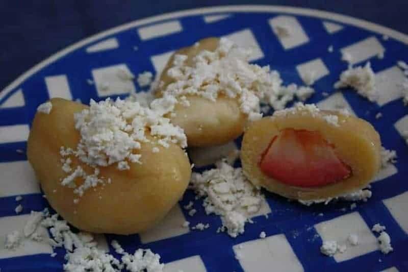 Ovocné (albondigas de fruta)