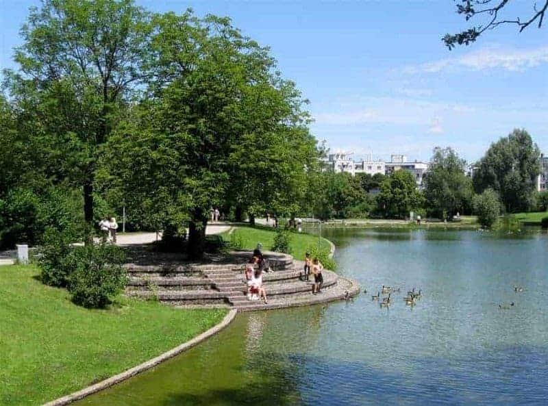 Parque Oeste Múnich