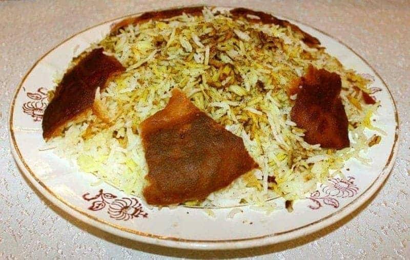 Plov (arroz azerbaiyano)