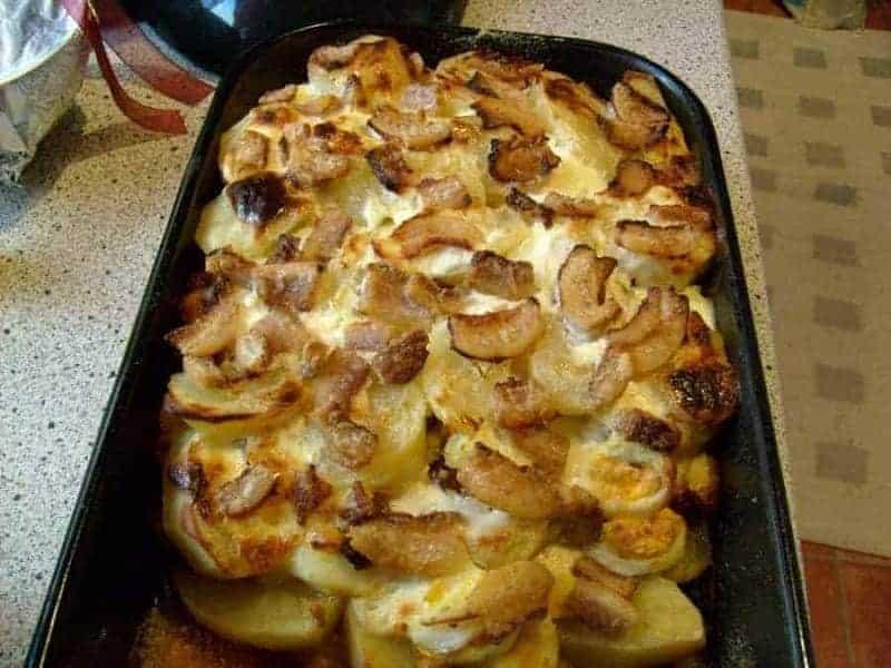 Rakott Krumpli (patatas en capas)