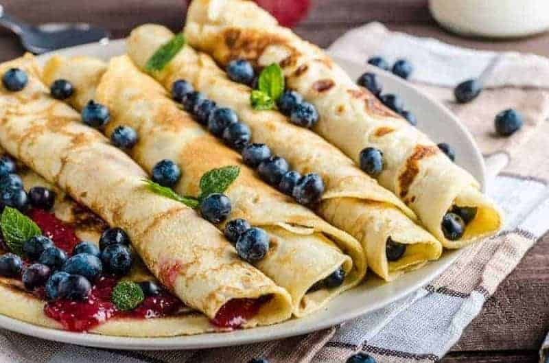 Slovenske palacinky (panqueques eslovacos)