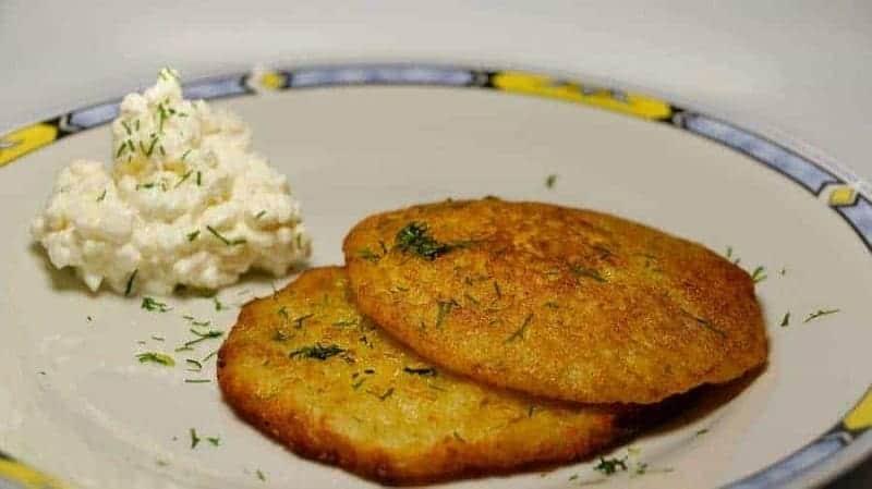 Zemiakové placky (panqueques de patata)
