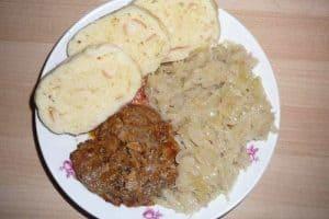 14 platos de comida típica checa