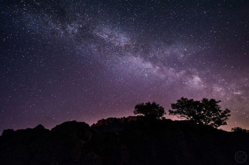 Estrellas desde Brecon Beacons, Gales