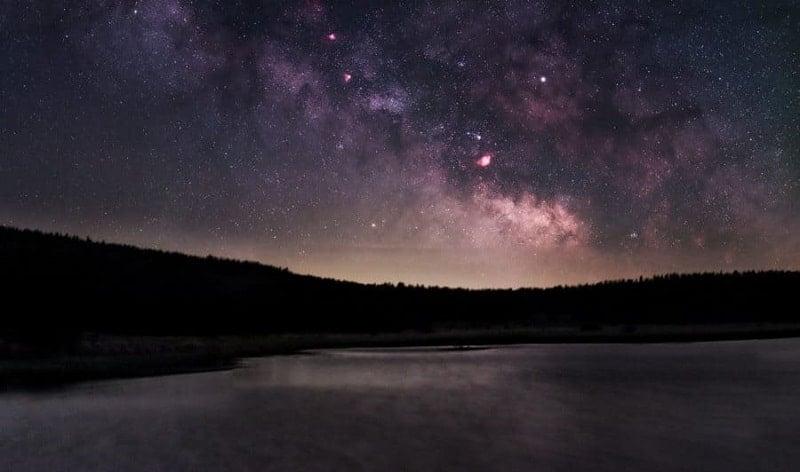 Estrellas desde Cévennes, Francia