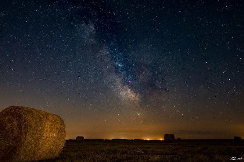 Estrellas desde Parque Nacional Hortobágy