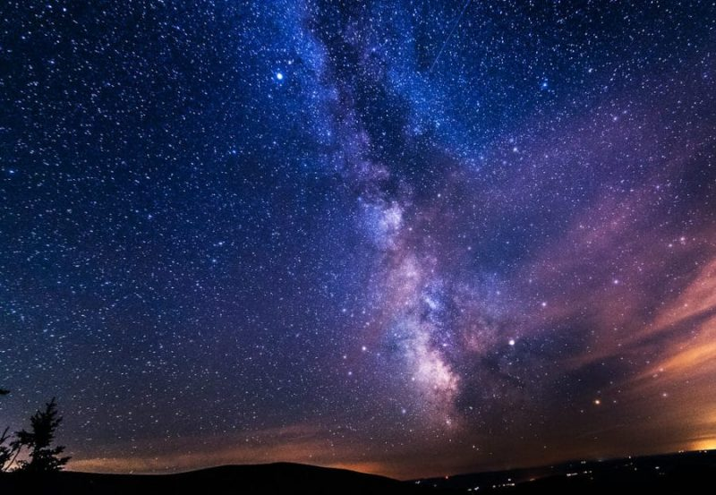 Estrellas desde Mont-Mégantic, Quebec, Canadá