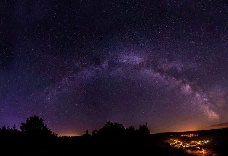 Estrellas desde Reserva de Biosfera del Rhön