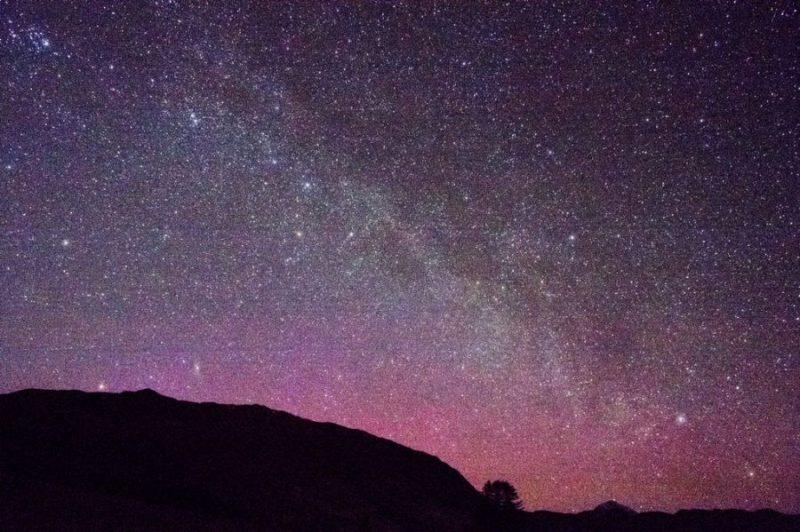Estrellas desde Tierras Altas Escocesas