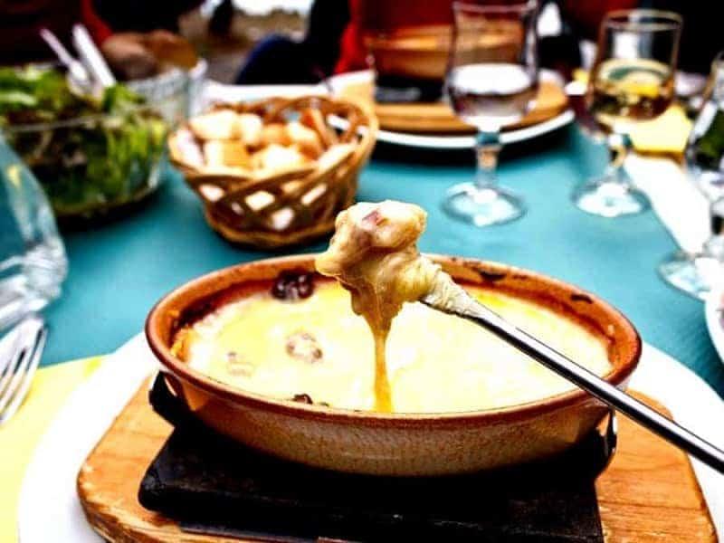 Fondue de queso (Fondue Savoyarde)