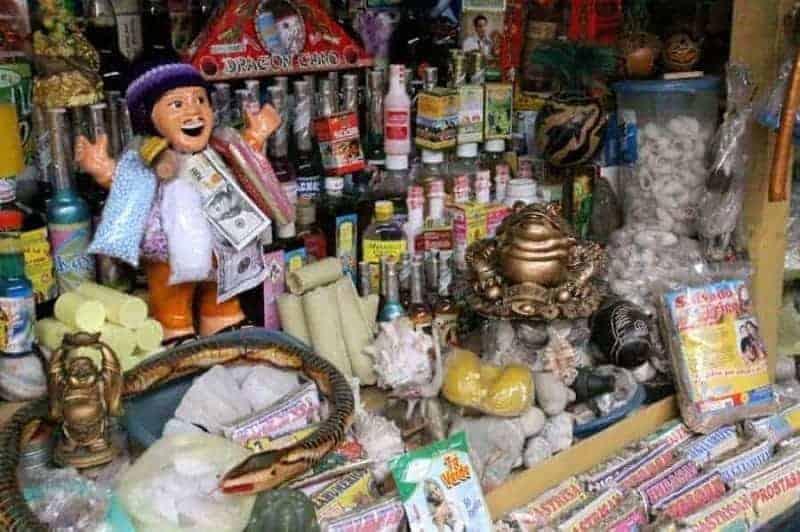 Mercado de Brujos en Chiclayo