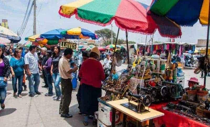 Mercado Modelo en Chiclayo