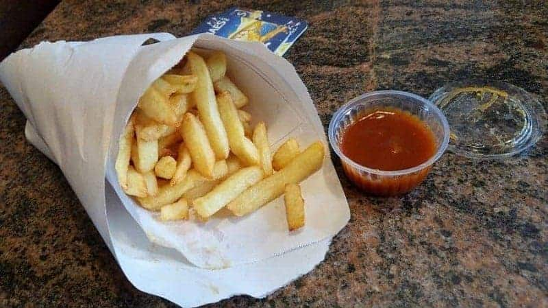 Frieten/Frietjes (patatas fritas belgas)