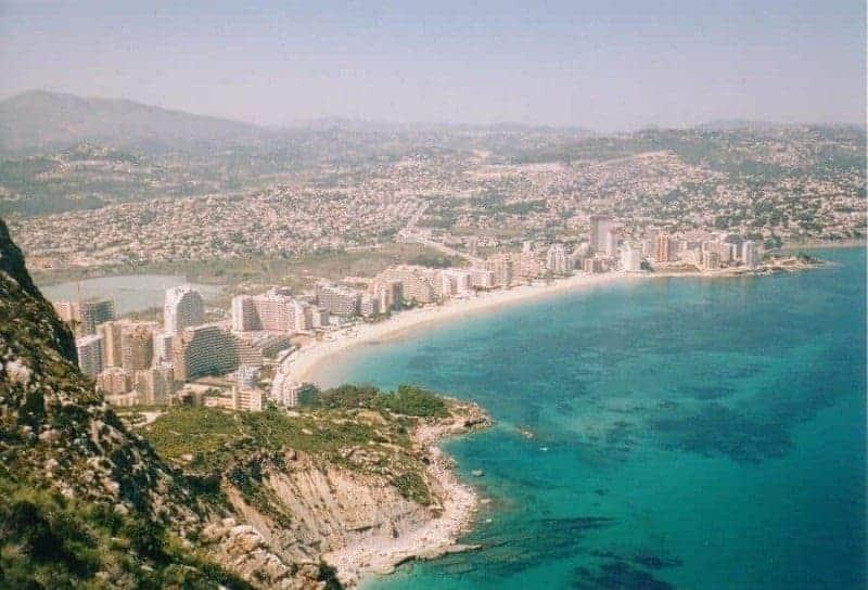 Playa de La Fossa (Calpe)