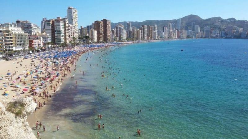 Playa de Levante (Sunrise Beach)