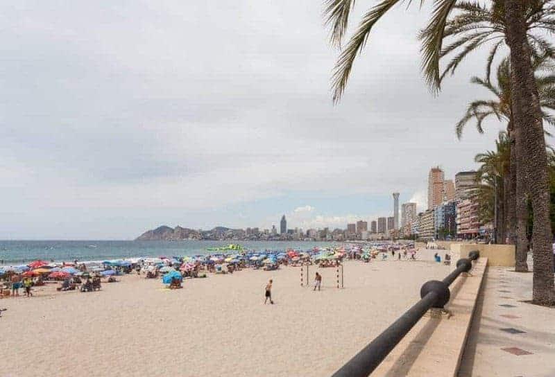 Playa de Poniente (Sunset Beach)