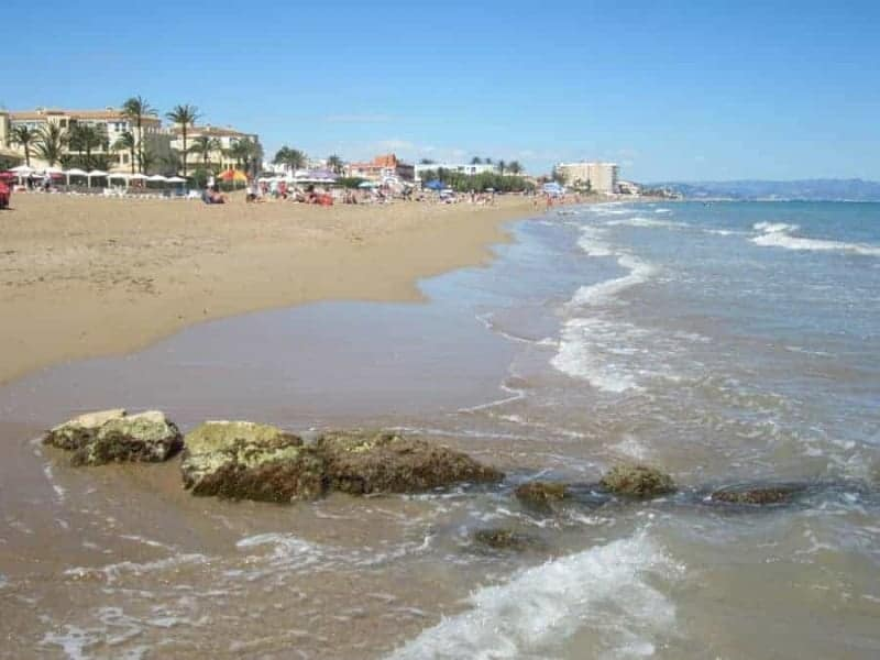 Playa Les Marines (Denia)