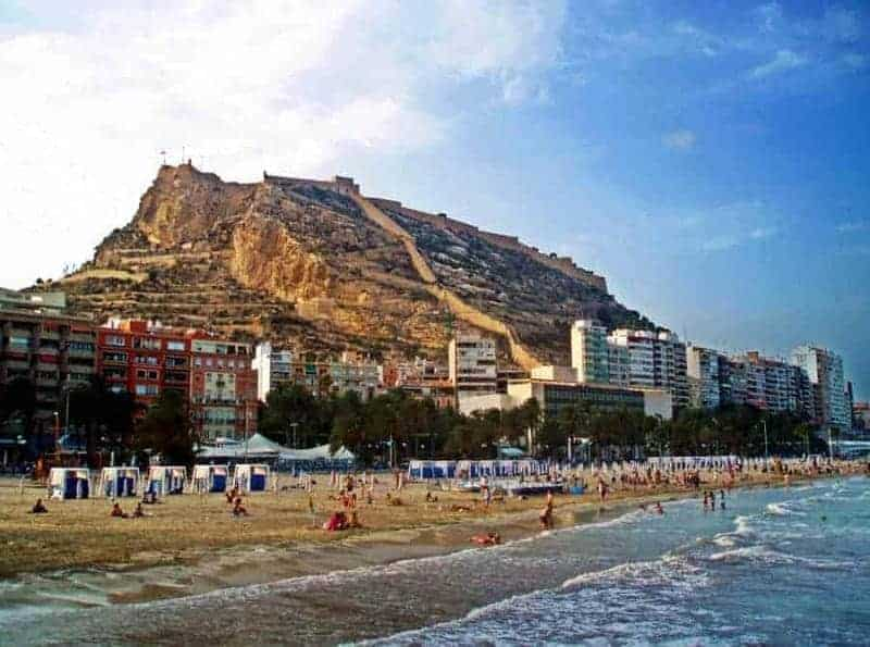 Playa Postiguet (Alicante)