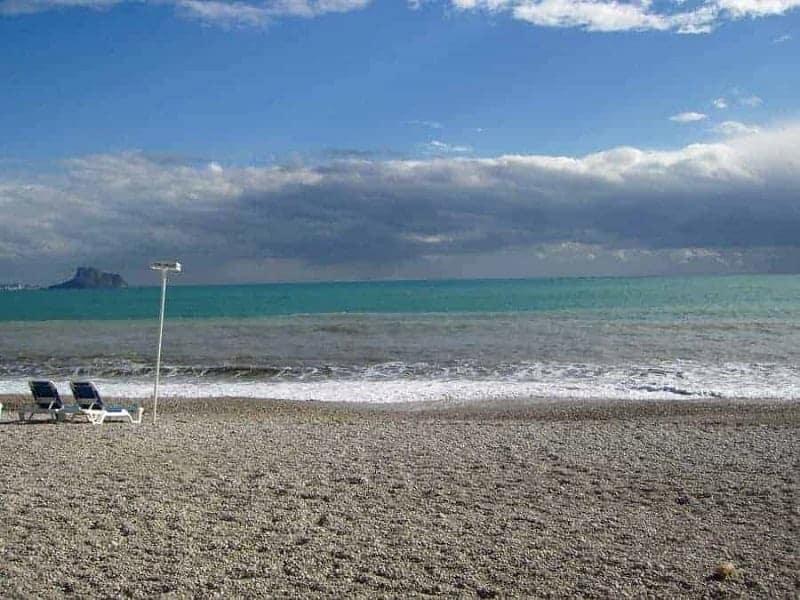 Playa Racó de l'Albir de Alfaz del Pi (Altea)
