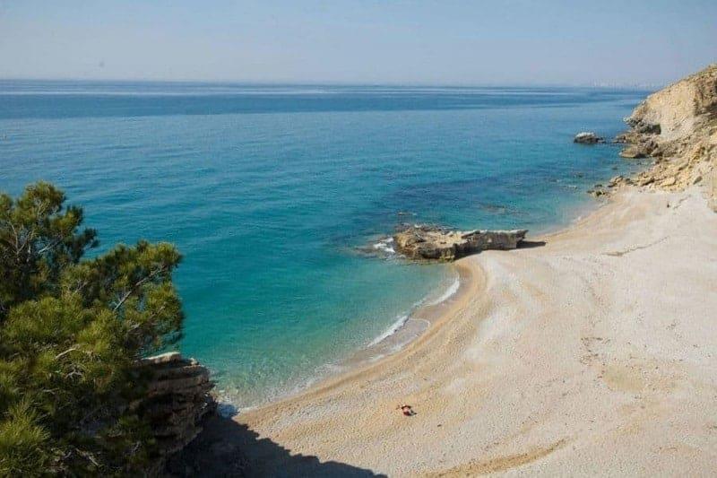 Las 11 mejores playas de La Costa Blanca, España 1