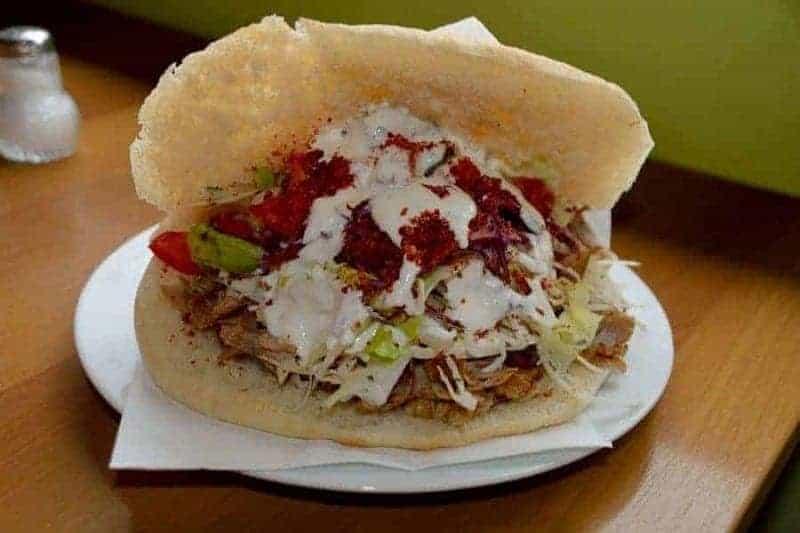 Döner (burrito turco)