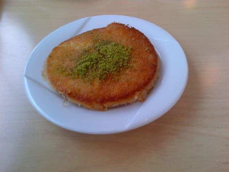 Künefe (postre con queso)