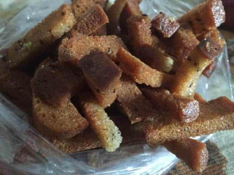 Kepta Duona (pan frito)