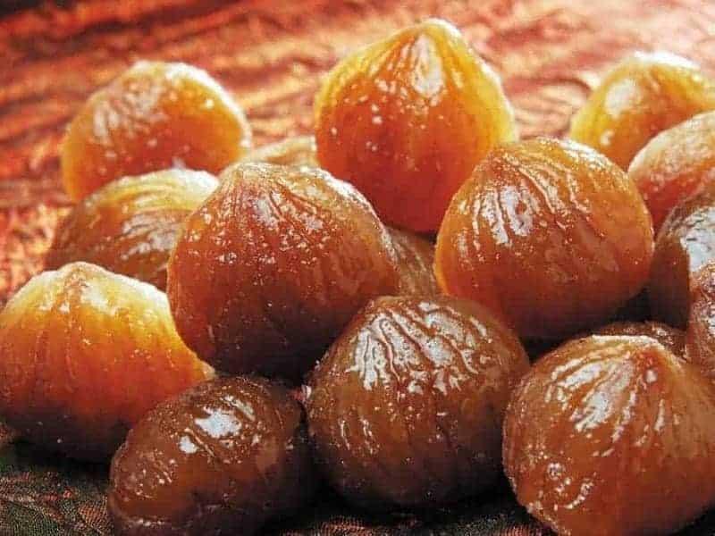 Kestane şekeri (castañas azucaradas)
