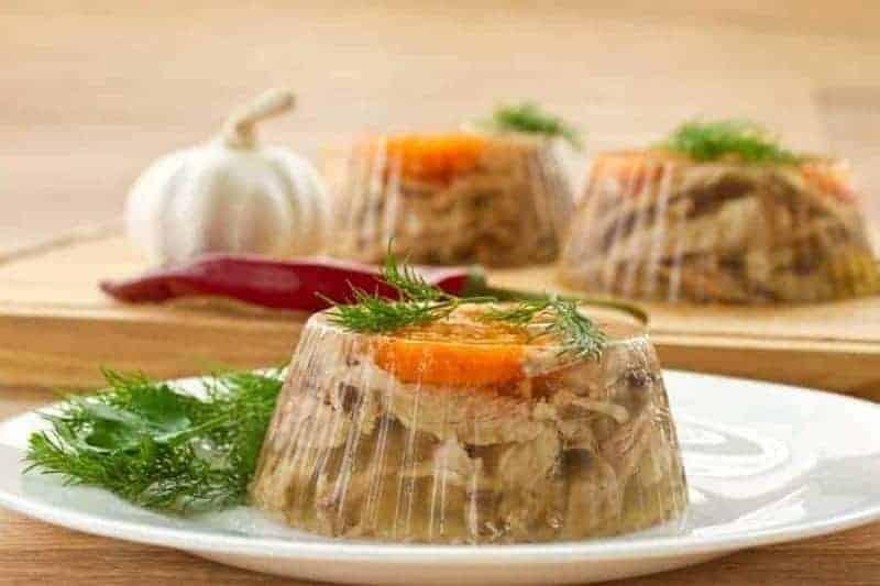 Kholodets (gelatina de carne o pescado)