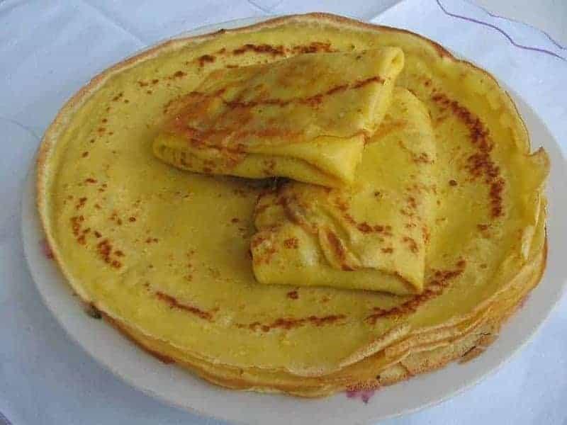 Nalysnyky (crepes ucranianos)