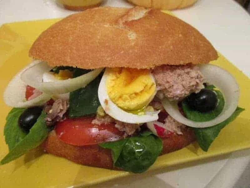 Pan Bagnat (sándwich mixto)