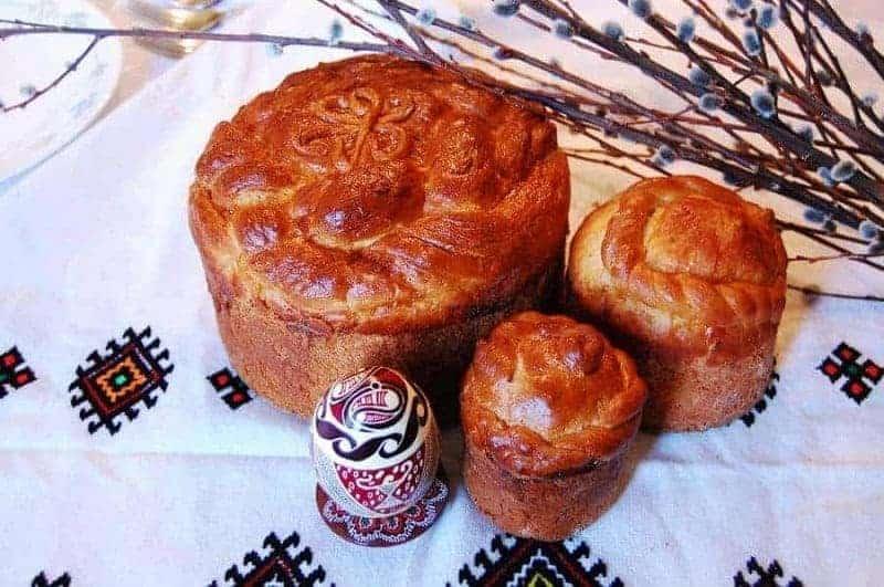 Paska (pan de pascua ucraniano)