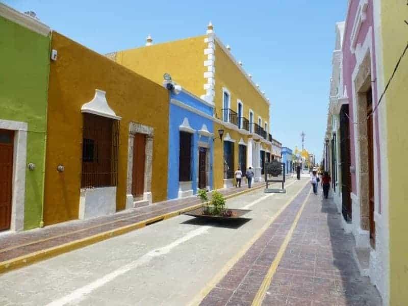 Casco antiguo de Campeche