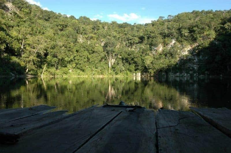 Cenote Miguel Colorado