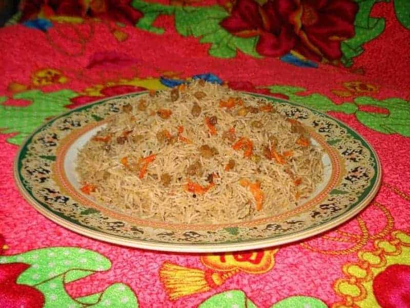 10 platos de comida típica afgana 2