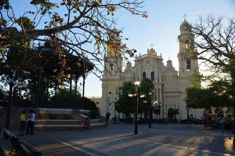 Plaza de Zaragoza en Hermosillo