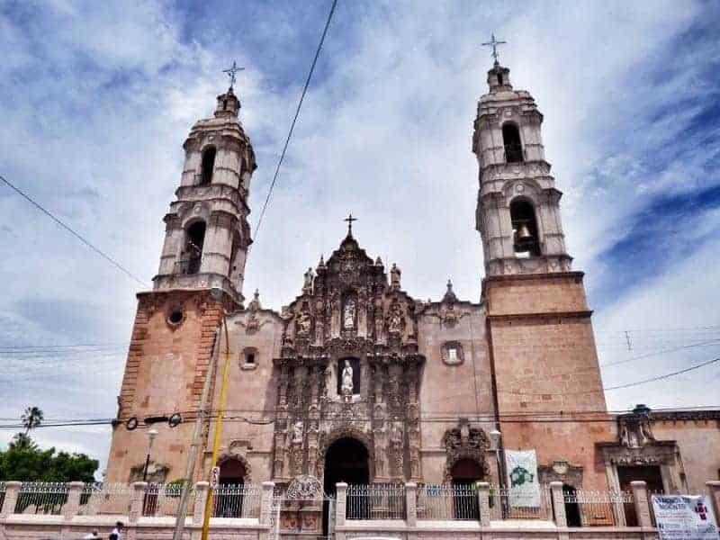 Templo del Santuario de Nuestra Señora de Guadalupe