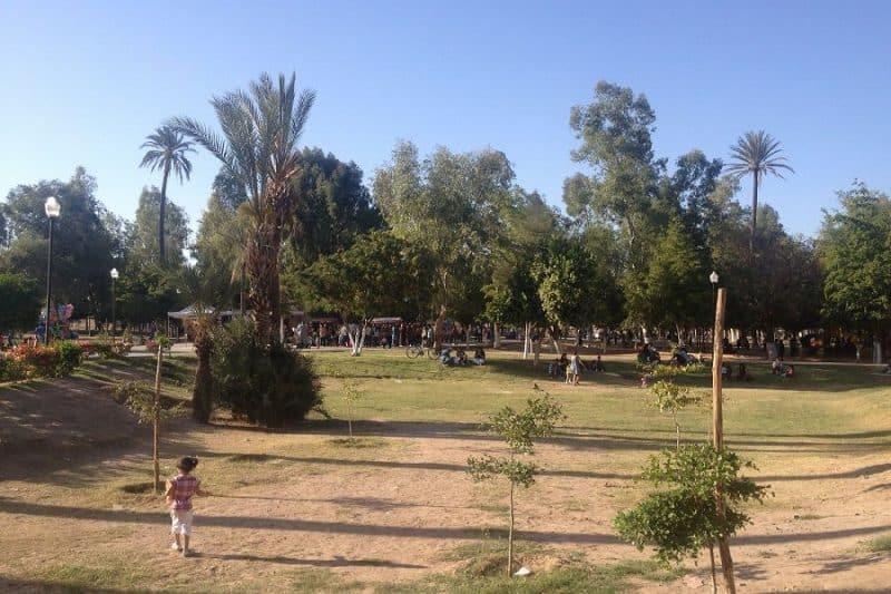Parque Madero en Hermosillo