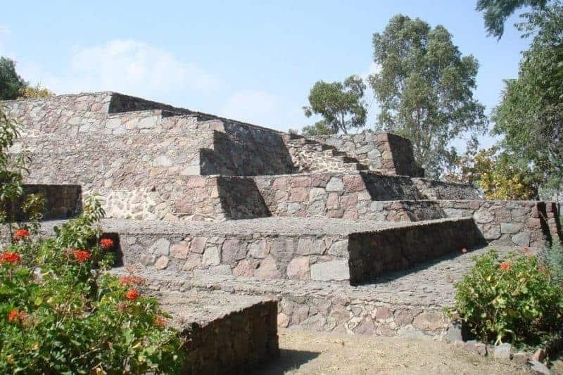 Zona arqueológica de Tlapacoya