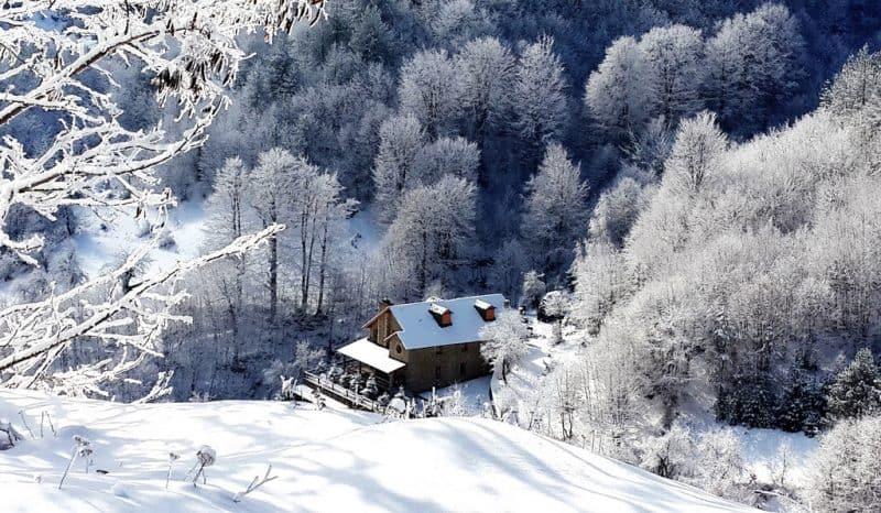 Dardha, el principal destino de esquí en Albania