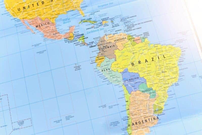 Regiones de Latinoamérica